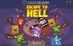 Lo lanzaron muy lejos en su gran fiesta, ahora regresa con todo. ► http://www.ispajuegos.com/jugar8525-Escape-to-Hell.html