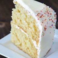 Vanilla Dream Cake by The Novice Chef