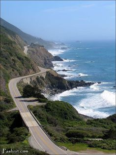 Pacific Coast Highway 1, Big Sur California...one of the best drives on the planet!!!