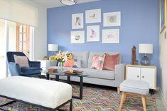 Proyectos archivos   El Blog del Decorador Living Pequeños, Sala Grande, Paint Colors For Living Room, Entryway, Gallery Wall, Frame, Painting, Home Decor, Lofts