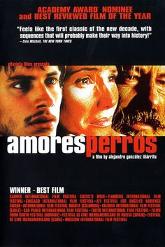 Amores perros - Thriller Movie: Synopsis: A horrific car accident connects three stories, each involving… Good Movies On Netflix, Great Movies, Movies To Watch, Top Movies, Pulp Fiction, Love Movie, Movie Tv, Movie List, Movies Showing