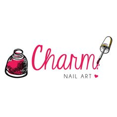 Nail Logo Beauty Nails Pinterest Nail Logo Nails And Salons
