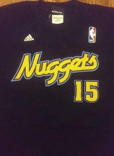 Denver NUGGETS NBA basketball shirt Adult Blue Jersey Adidas Carmelo Anthony #15 #adidas #DenverNuggets