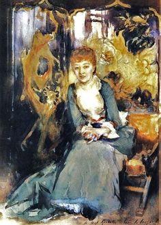 John Singer Sargent 1856-1925 Henrietta Reubell