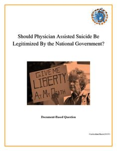a research on physician assisted suicide If you're a diabetic in oregon and refuse treatment, you may qualify for life-ending drugs under the state's physician-assisted suicide law.