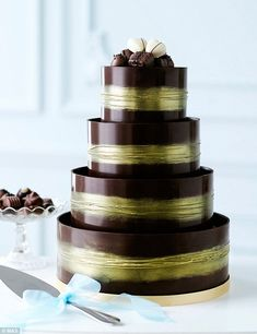 marks and spencer shimmering hoop chocolate wedding cake best 25 chocolate wedding cakes ideas on 17164