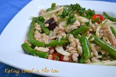 Farro Out! Farro, Green Bean, and Fennel Salad with Tuna- a delicious combination