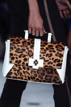Animal print purse at Jason Wu Spring 2013 #fall #fashion