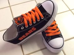 Hey, I found this really awesome Etsy listing at https://www.etsy.com/listing/210023971/chicago-bears-womens-tennis-shoes @ricoparker