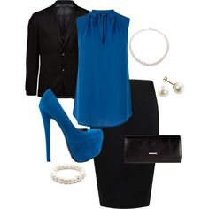 """Business attrie"" by melanie-rivers on Polyvore"