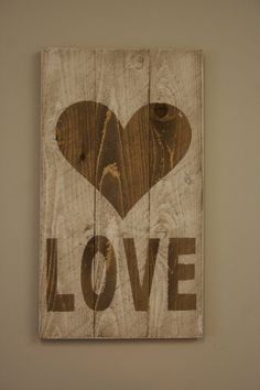 Rustic LOVE Sign Wedding Decor Pallet Sign Vintage Sign Wall Decor Wedding Sign Shabby Chic Anniversary from Picsity.com