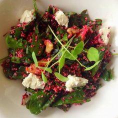 Quinoa, Beetroot & Orange Salad