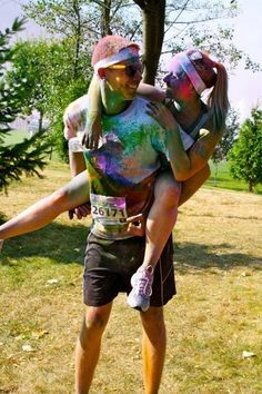 Couples who color run together stay together! || SOULMATE BUCKET LIST ||