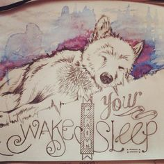 Wake from your sleep... #doodles #draw