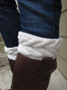 Boot Sock with CuffFull boot Sock sock Included by sugarbshop, $35.00