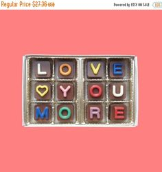 Will You Be My Godmother Cubic Chocolate Letters Funny Creative