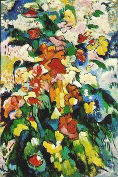 Maurice De Vlaminck.   Flowers (Symphony in Colors) 1907