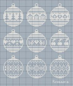 Christmas round ornaments