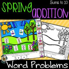 Do your students need hands on practice with addition word problems to 10? Practice addition word problems with your Kindergartner kiddos with these read and build story problems! 15 Practice pages are included! This is a print and go activity. No prep required! Just read the story problem, build t...