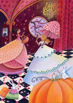 les princesses by Marie Cardouat Pretty Art, Cute Art, Marie Cardouat, Bel Art, Art Fantaisiste, Art Et Illustration, Illustration Children, Art Illustrations, Art Mignon