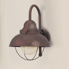 Nantucket Outdoor Light - Large possibly use in powder room or upstairs bath or outside front or back
