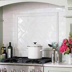 Kitchen Backsplash Subway Tile Patterns tile backsplash ideas for behind the range | cooking oil, subway