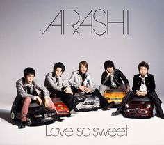 Love so sweet 通常盤 2007年2月21日
