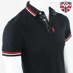 MPire Twin Tip Heritage Polo by Warrior Clothing- BLACK
