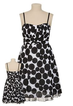 Swiss Dot Polka Dot Tank Dress / Tried on this dress tonight at Maurices. It reminded me of Kate Spade, but far less.