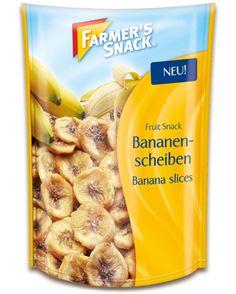 Packung Farmer's Snack Bananenscheiben