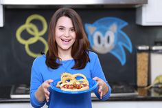 Loved making Sonic The Hedgehog Chili Dogs and yummy onion rings today on Nerdy Nummies! :) Omnomnom