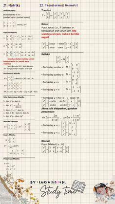 School Study Tips, School Lessons, Math Lessons, Math Notes, Math Formulas, Study Journal, School Notebooks, Maths Algebra, Bullet Journal Ideas Pages