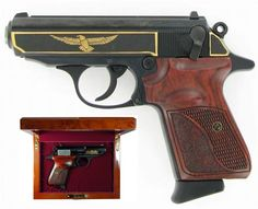 James Bond's gun...a Walther PPK.  smooth shooting!