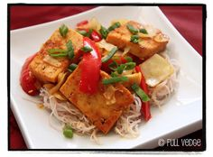 Full vedge - Recettes végétariennes et gourmandes!: Sauté de tofu aux cinq épices