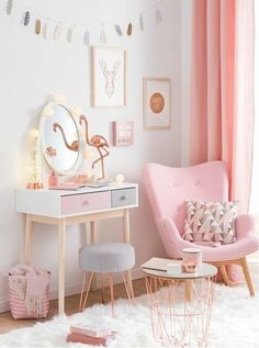 Mädchen Kinderzimmer   33 Zeitgenössische Zauberhafte Innendesigns Für  Mädchen