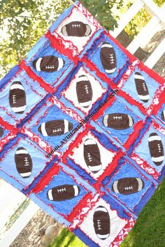 1000 Images About Rag Quilt Sports On Pinterest Rag
