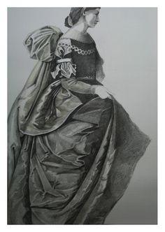 Heribert Stragholz : Zeichnung - Bleistift - nach Zurbaran - 2015 - 70 ...