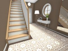"Did you know you can visualize different window, floor and stair finishes using RoomSketcher Home Designer? With our Replace Materials feature, you can choose from a wide variety of different materials and see how they will look in 3D. It's the perfect way to ""try"" before you buy! http://www.roomsketcher.com/features/replace-materials/  #windowideas #stairdesign #staircaseideas #homedesign #interiordesign #homeimprovement"