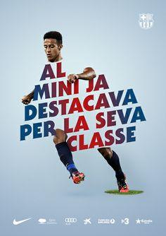 Gràfica publicitària   Mini Estadi: Apunta't al futur!   FC Barcelona