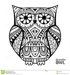 Decorative Owl Stock Photos, Images, & Pictures – (2,484 Images)