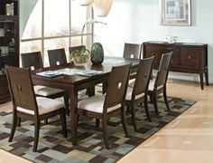 The Contemporary Pebble Beach Formal Dining Collection | Jeromeu0027s Furniture
