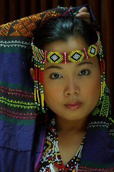 Colorful Philippine Portrait - Culture - Portrait - Title She' 03: