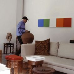 Ellsworth Kelly on the Pleasures of a Life in Art. In the final installment of our exclusive video interview with the artist, Artspace editor-in-chief Andrew M. Goldstein spoke to Kelly about his assessment of his career. Ellsworth Kelly, Contemporary Abstract Art, Living Room Art, Assessment, Art Art, Career, Art Gallery, Icons, Interiors