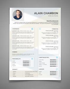 CV - candidatures spontanées - CV 59 | Maxi CV