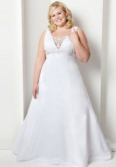 How to choose a plus size wedding dress? Description from dressesphotos.com. I searched for this on bing.com/images