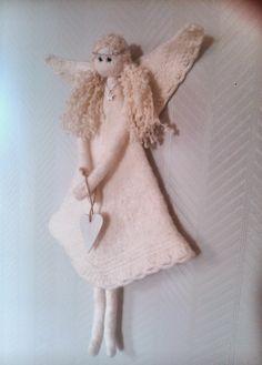 Knitting Projects, Crafts, Craft Ideas, Google, Angels, Knitting Designs, Diy Ideas, Handmade Crafts, Diy Crafts