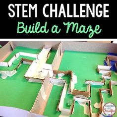 STEM Challenge: Can you build a marble maze? Using some basic supplies like cardboard, construction paper, and tape what can you build?Please note: This challenge is available in a bundle at a money-saving price.UPDATED MAY 2015! This best -selling STEM challenge has undergone an update.