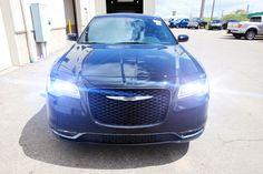 2015 Black Chrysler 300 at the Dealership