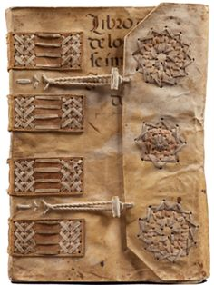 Encuadernación de archivo con decoraciones Mudejar