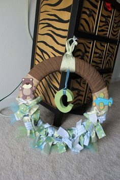 Baby Wreath by CraftsOnAMission on Etsy